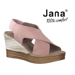 JANA 28329 sandały skórzane...