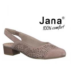 JANA 29492 skórzane sandały...