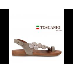 Toscanio skórzane sandały...